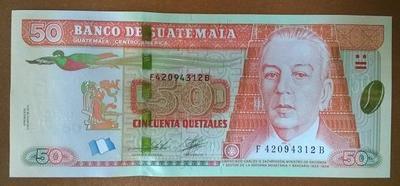 Гватемала 50 кетцаль 2012 год