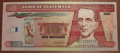 Гватемала 10 кетцаль 2008 год