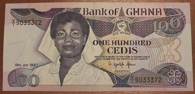 Гана 100 седи 1990 год