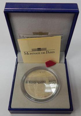 Франция 10 франков 15 евро 1996 год