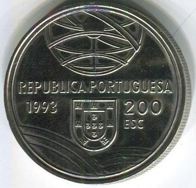 200 эскудо 1993 год Мортира