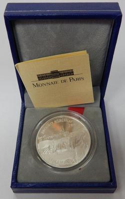 Франция 10 франков 15 евро 1997 год