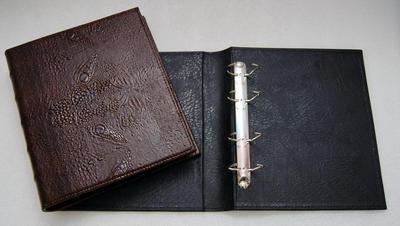 Альбом вертикальный (Optima) 230 х 270 мм без листов