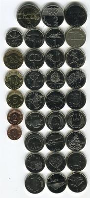 Набор Юбилейных монет Латвии с 1992 по 2013 год
