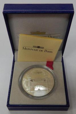 Франция 100 франков 15 экю 1995 год