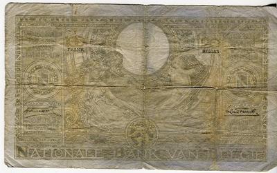 Бельгия 100 франков 1935 год