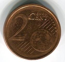 Ирландия 2 евроцента 2005 год