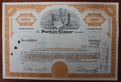 США.Акция Perkin-Elmer