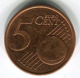 Ирландия 5 евроцентов 2006 год