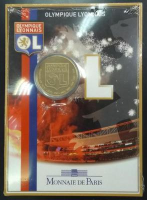 Франция 1 1/2 евро 2009 год Футбольный клуб Олимпик Лион