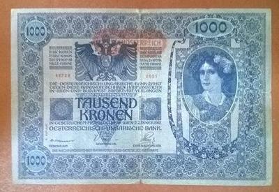 Австрия 1000 крон 1902 год