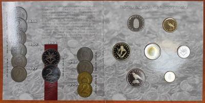Венгрия.Набор 7 монет в буклете 2008 год