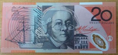 Австралия 20 долларов 2013 год