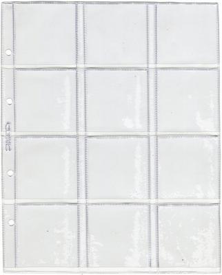 Лист для монет в холдерах 200 х 250 мм (Optima)