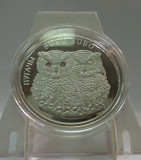 Беларусь 20 рублей 2010 год Филины