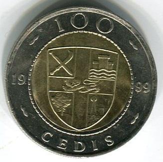 Гана 100 седи 1999 год