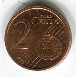 Ирландия 2 евроцента 2007 год