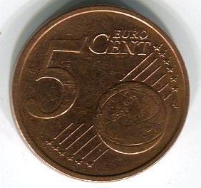 Ирландия 5 евроцентов 2004 год