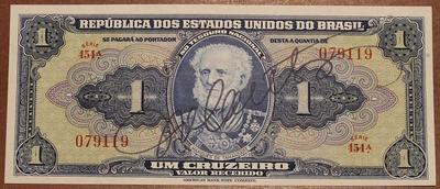 Бразилия 1 крузейро 1944 год
