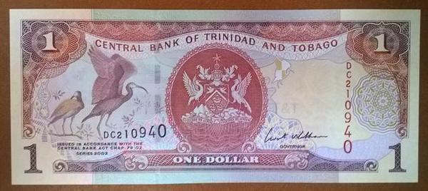 Тринидад и Тобаго 1 доллар 2002 год