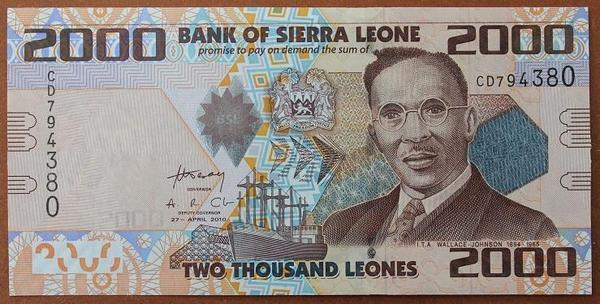 Сьерра-Леоне 2000 леоне 2010 год