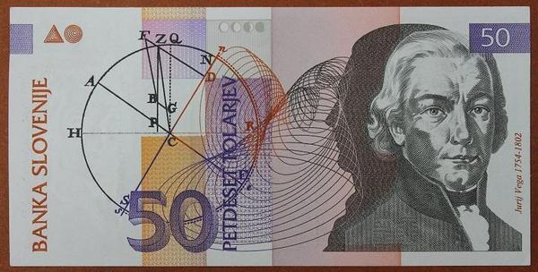 Словения 50 толаров 1992 год