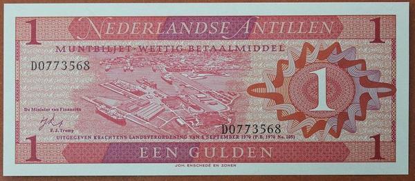 Нидерландские Антильские острова 1 гульден 1970 год