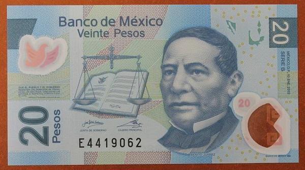 Мексика 20 песо 2012 год