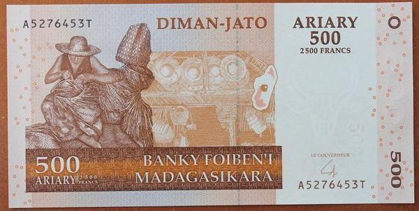 Мадагаскар 500 ариари 2004 год