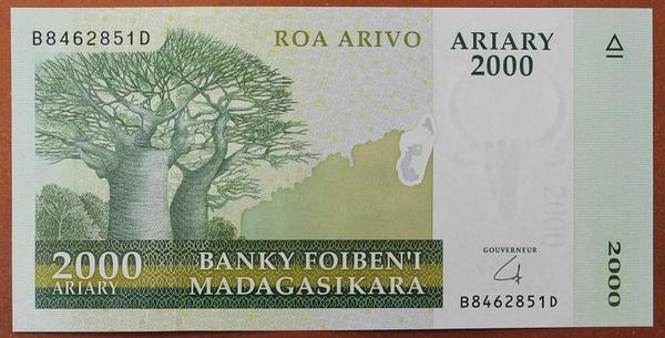 Мадагаскар 2000 ариари 2009 год