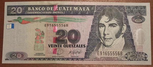 Гватемала 20 кетцаль 2008 год