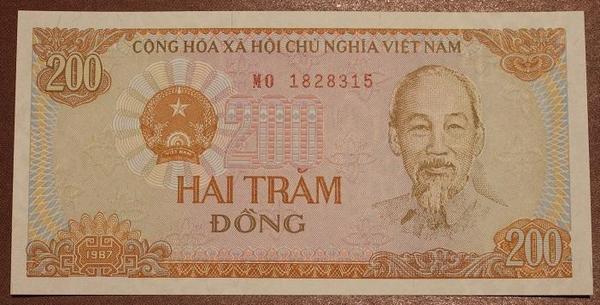 Вьетнам 200 донг 1987 год