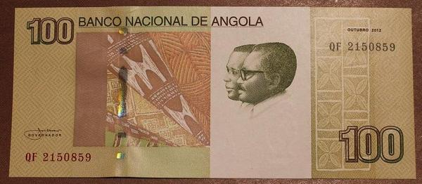 Ангола 100 кванза 2012 год