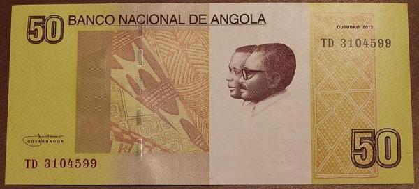 Ангола 50 кванза 2012 год