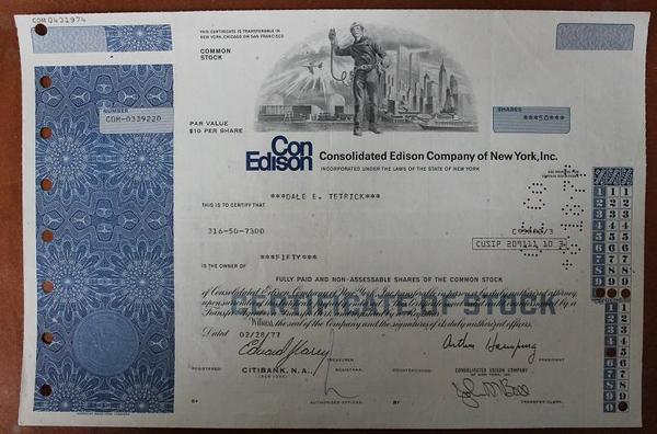 США.Consolidated Edison Company of New York,inc
