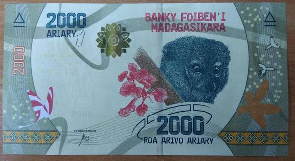 Мадагаскар 2000 ариари 2017 год