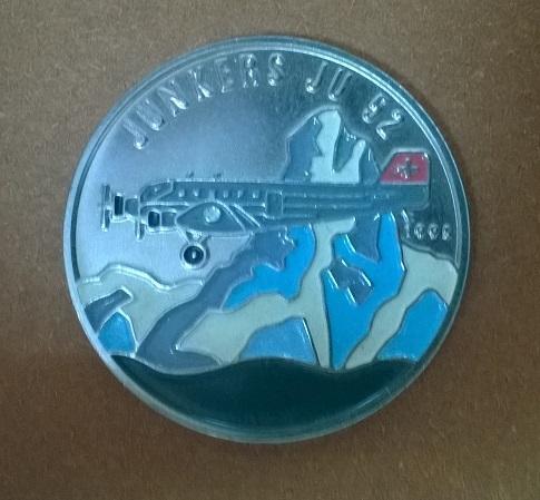 Конго 100 франков 1995 год