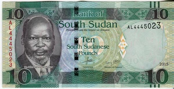 Южный Судан 10 фунтов 2015 год